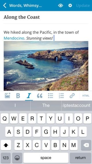 Wordpress App Provides Tools for Blogging and Publishing