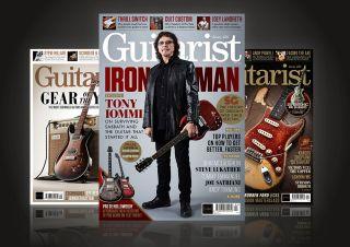 Guitarist magazines