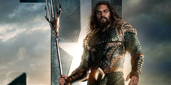 Aquaman in a Justice League promo image