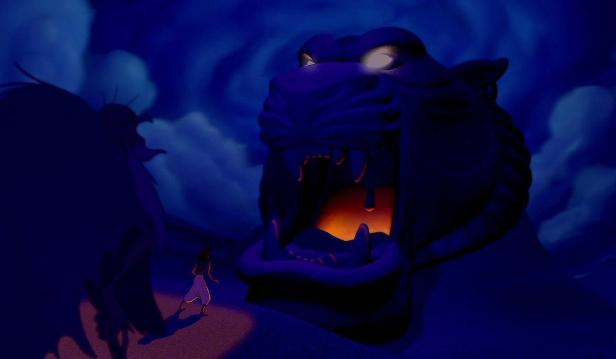 The Cave of Wonders in Aladdin