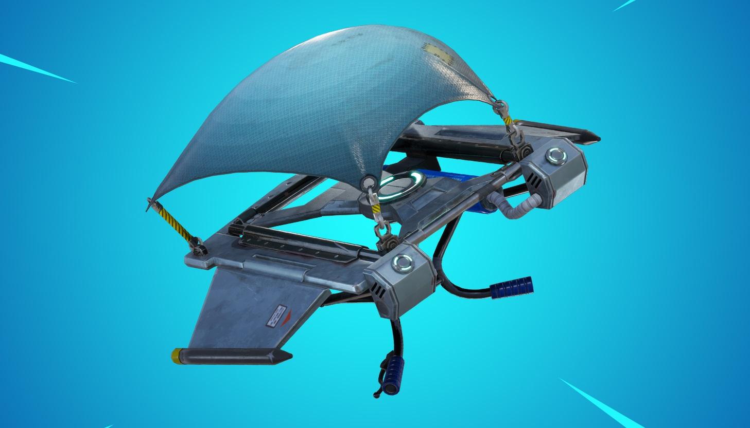 Fortnite update 7.20 brings back glider redeploy as an item