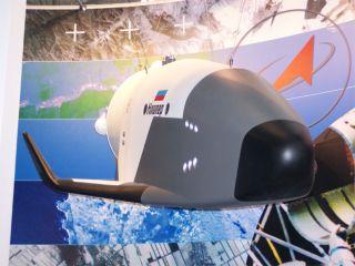 Russia's Kliper Spacecraft Showcased in Paris