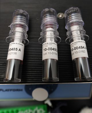 Blood samples in doping control