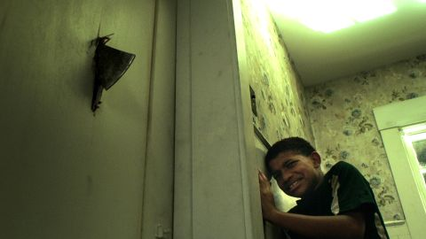 The Boy Behind the Door.