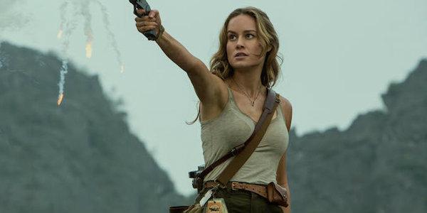Brie Larson hot in Kong: Skull Island
