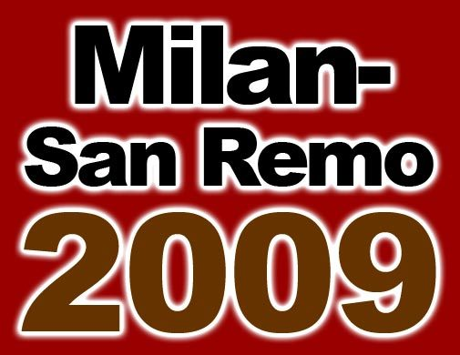 Milan San Remo logo 2009