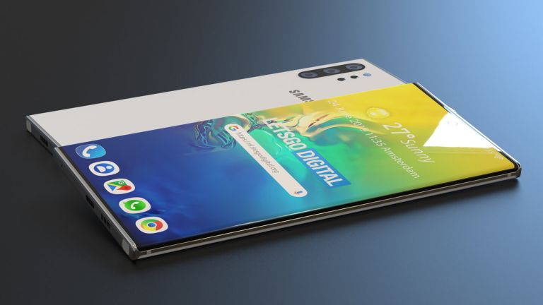 Samsung Galaxy Note 10 5G Design