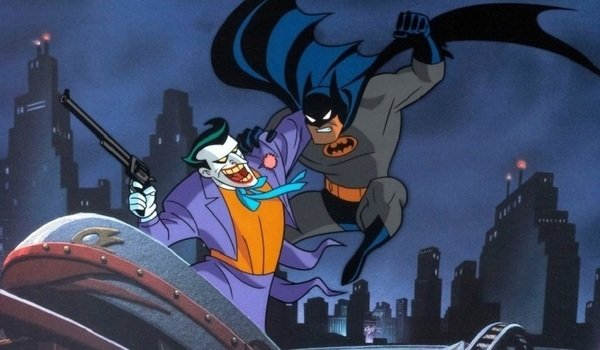batman the animated series batman joker