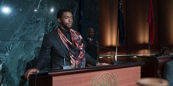 T'challa at the United Nations