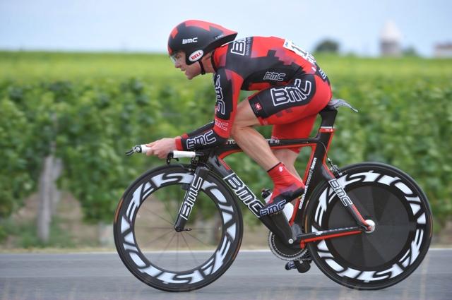 Cadel Evans, Tour de France 2010, stage 19 TT