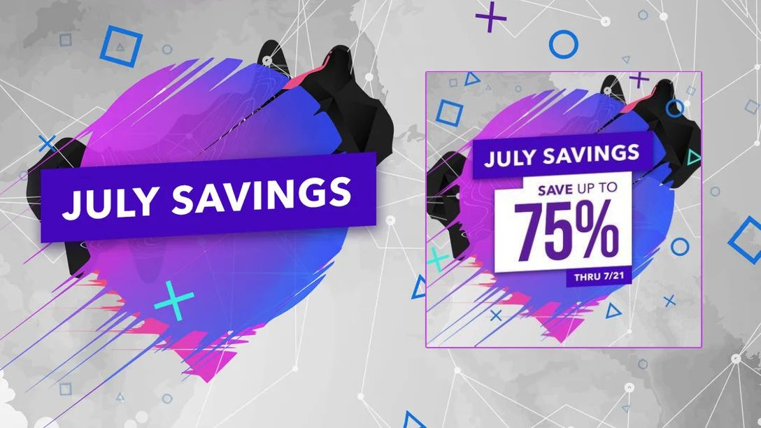 Save up to 75% on hundreds of PS4 games in the July Savings PlayStation Store sale