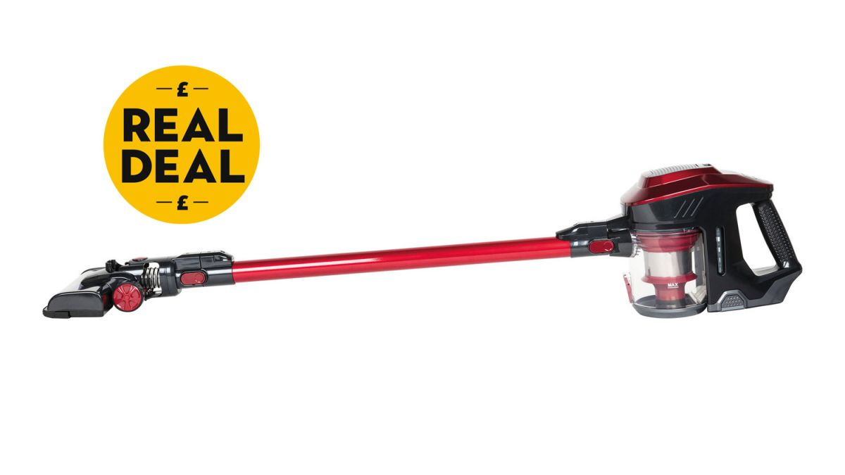 this lidl cordless vacuum cleaner is a dyson dupe and costs just real homes. Black Bedroom Furniture Sets. Home Design Ideas