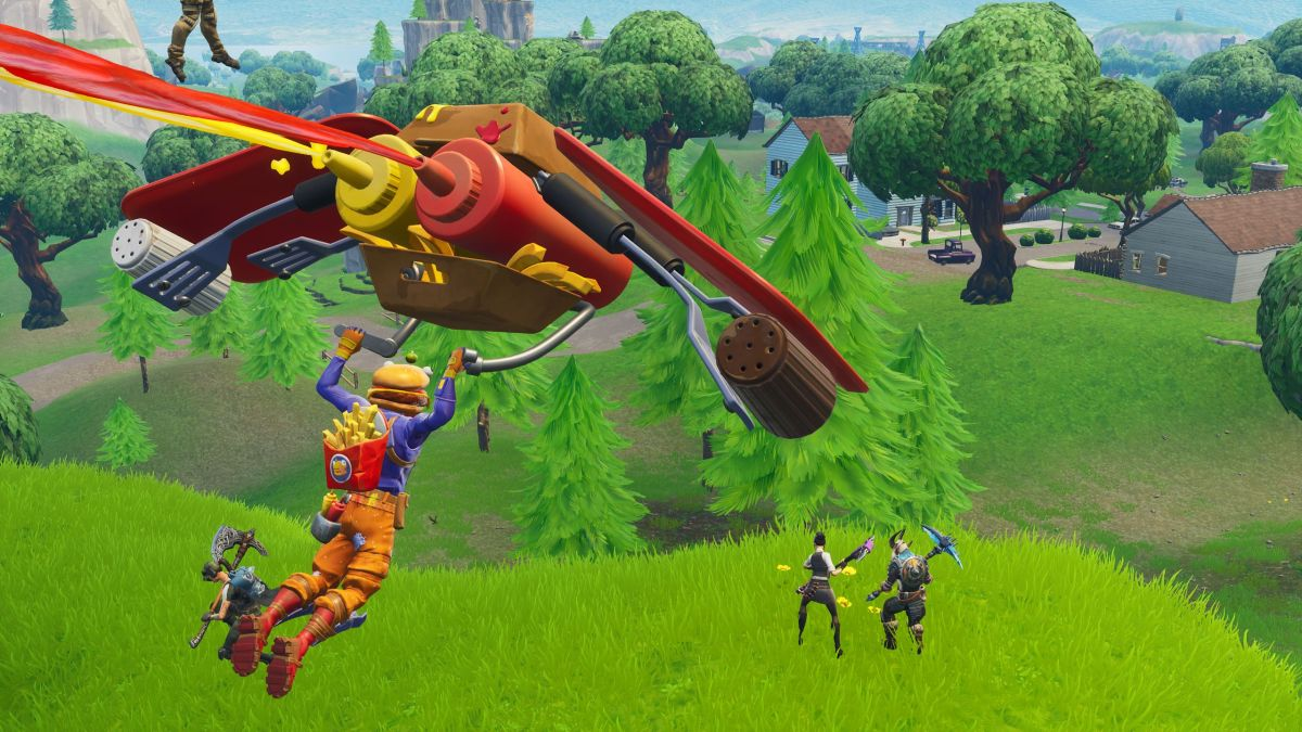 Here's exactly where Fortnite's stone heads are looking