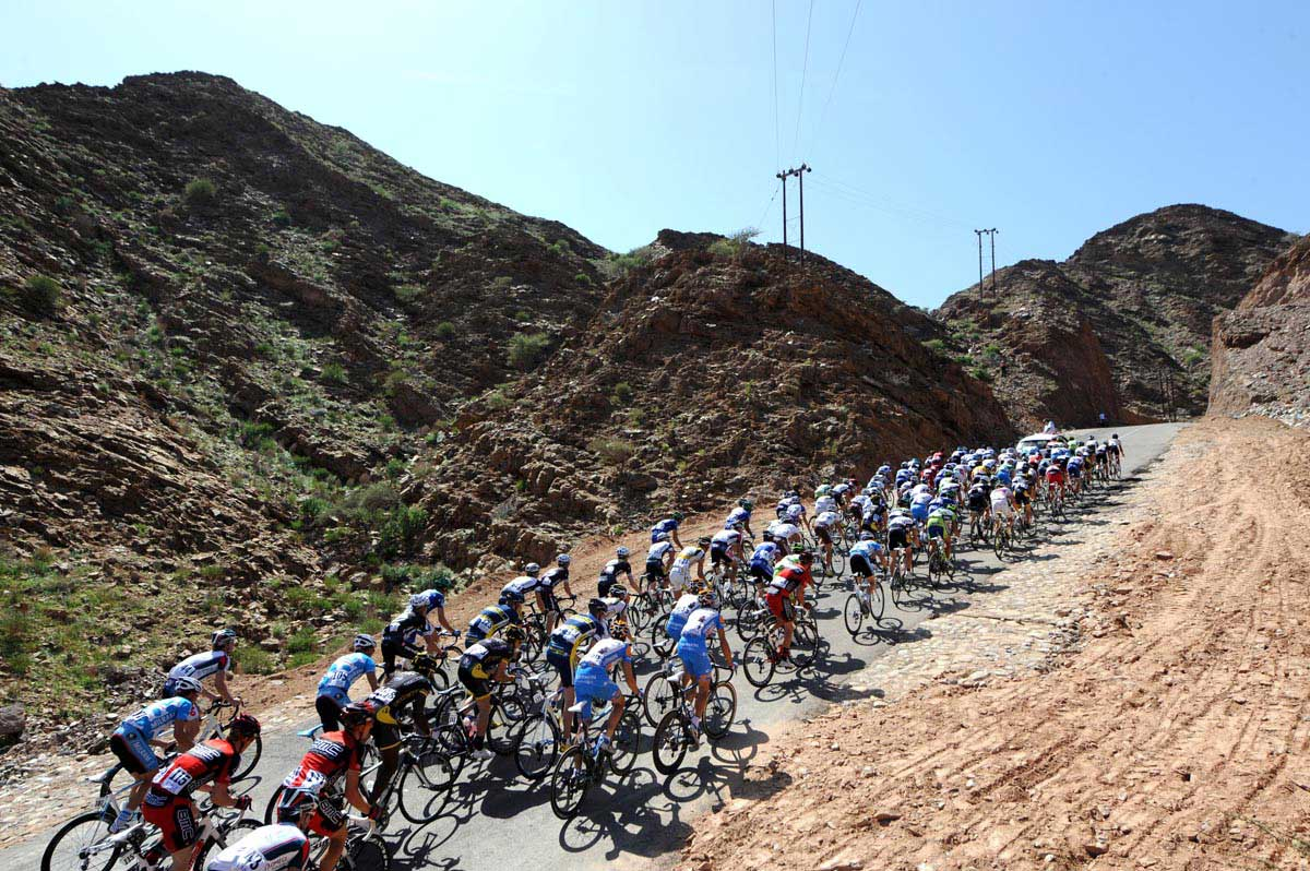 tour of oman 2010, oman stage three, stage three, peloton