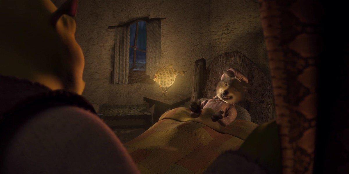 The Big Bad Wolf in Shrek