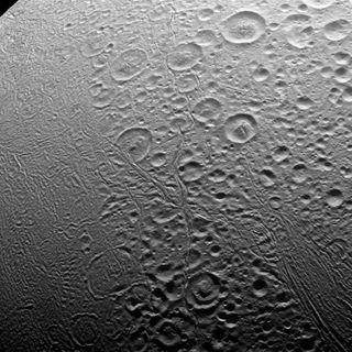 North Pole of Enceladus: Cassini View