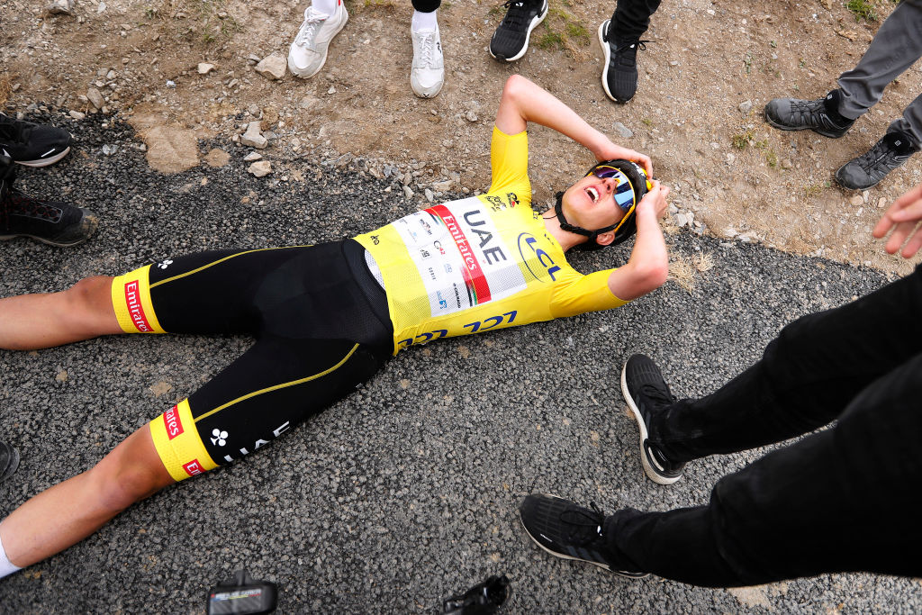 Col du Portet - France - wielrennen - cycling - cyclisme - radsport - pictured during 108th Tour de France 2021 stage 17 from Muret to Saint-Lary-Soulan (Col du Portet) (178.4KM) - photo Tim van Wichelen/Cor Vos © 2021