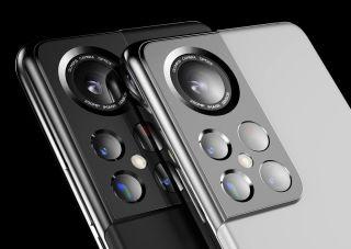 Samsung Galaxy S22 renders cameras