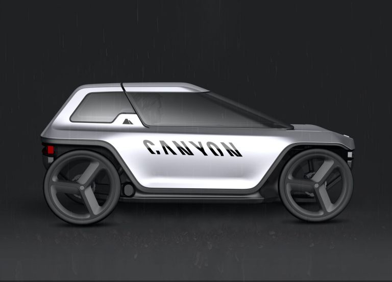 Canyon concept car