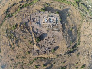 The 1,900-year-old house containing scenes of nature is part of a much larger archaeological site called Omrit.