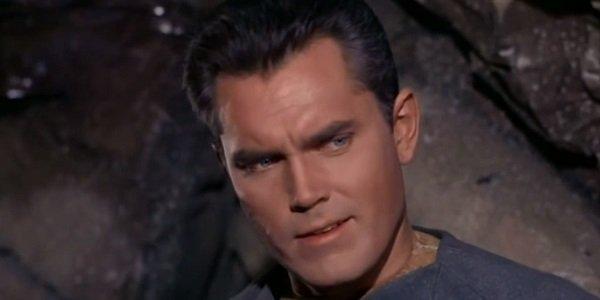 Captain Pike Jeffrey Hunter Star Trek