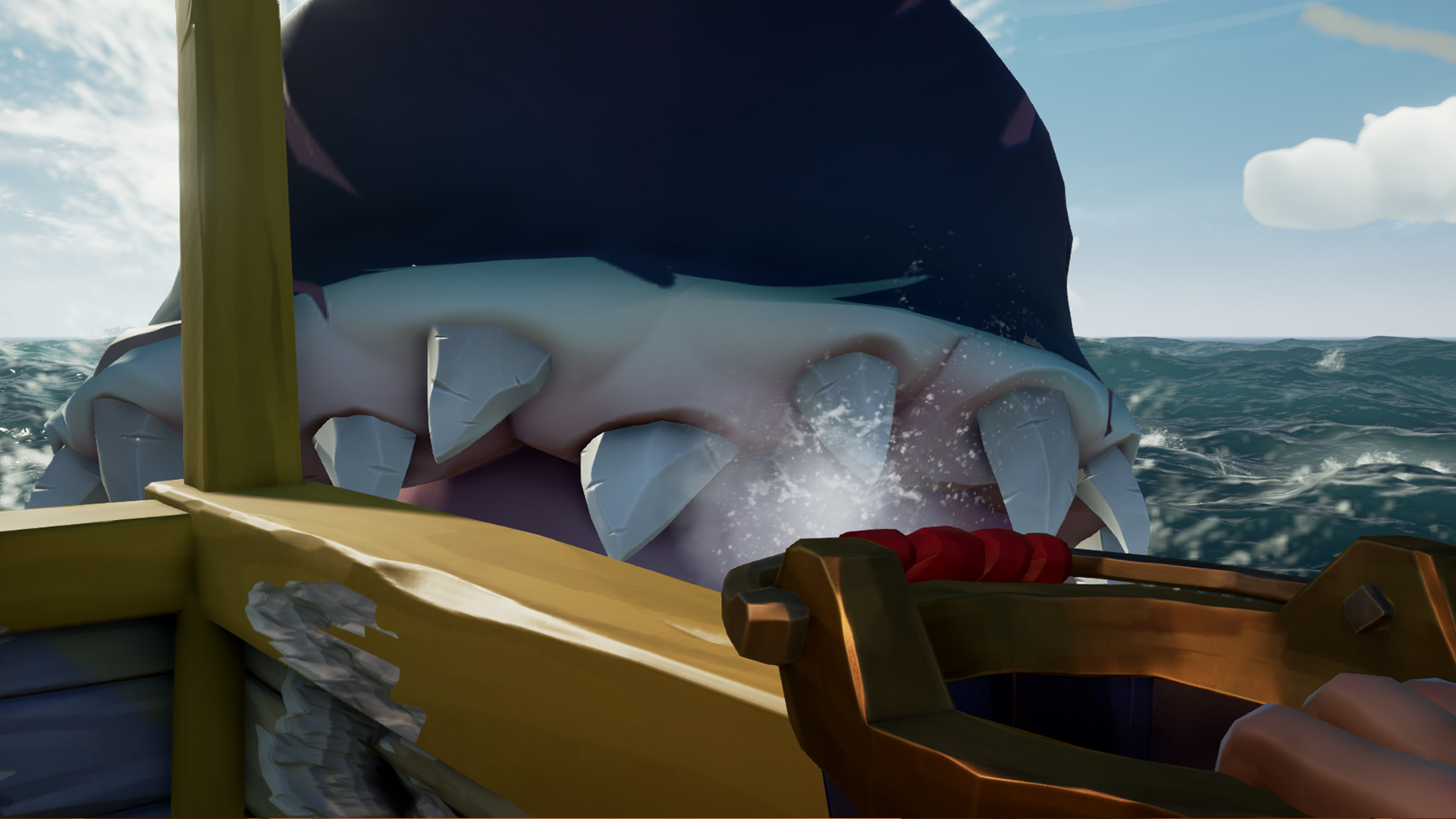 Sea of Thieves Megalodon - how to find and summon Shrouded