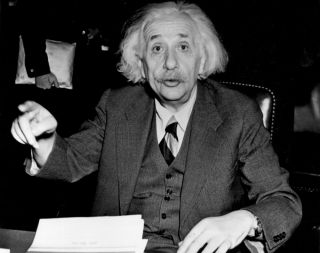 Albert Einstein in 1946.
