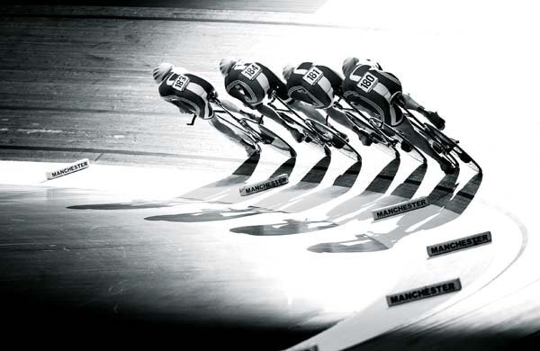 Team Pursuit, Manchester track world cup, Andy Jones' photos of 2011