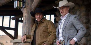 Yellowstone Season 1 still with Kevin Costner