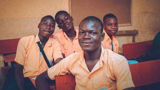 Students of Ibadan – image by Alabi Samuel Aniolaoluwa, U21s Canon Young Champion of the Year