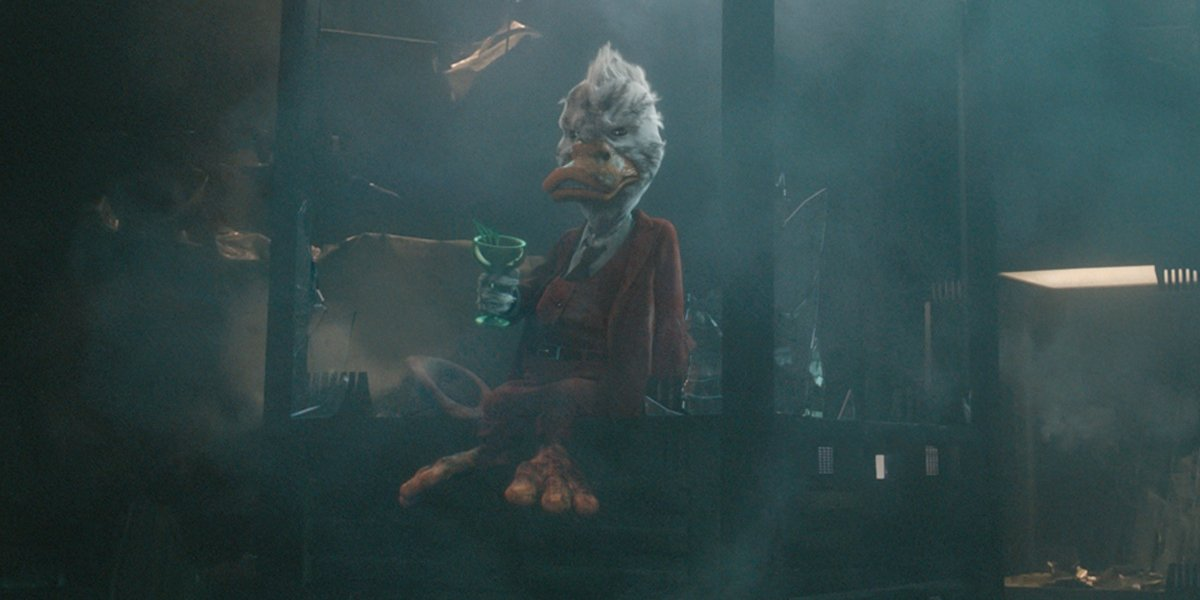 Seth Green as Howard the Duck in Guardians of the Galaxy