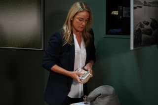 EastEnders Mel takes money from the safe
