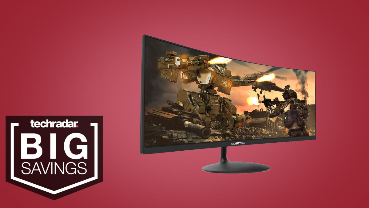 Sceptre's curved ultrawide monitor is just $279 with this Black Friday deal