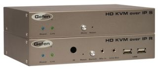 Gefen Unveils Three New KVM Extenders Using Video Over IP