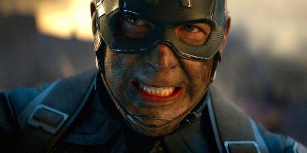 Avengers: Endgame Captain America intense