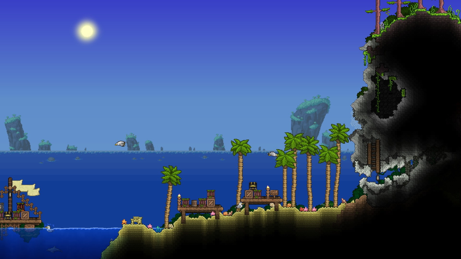 Ten years after release, Terraria gets Steam Workshop support