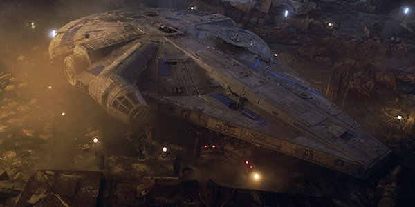 First Look At Star Wars Galaxy's Edge Millennium Falcon At Disney World