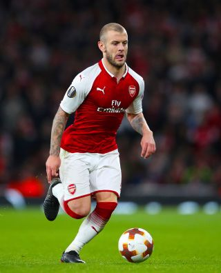 Jack Wilshere has been training with former club Arsenal.