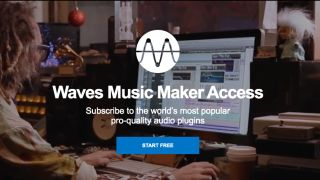 "Waves' ""affordable"" Music Maker Access plugin subscription plan starts at $6.99 a month"