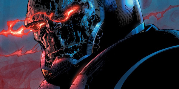 Darkseid eyes glowing red
