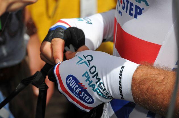 Mark Cavendish's gloves, Tour de France 2013, stage five