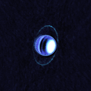 A Mysterious Glow Warms Rings of Uranus