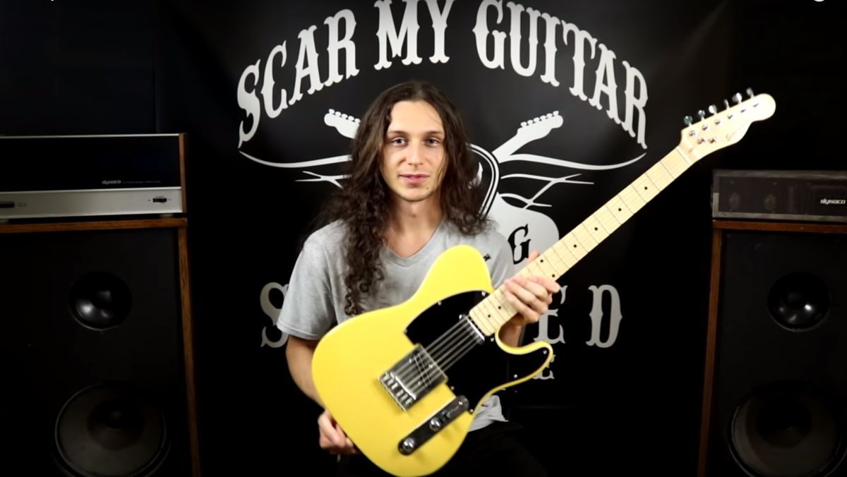 YouTube series Scar My Guitar is a six-string version of MTV's Pimp My Ride