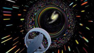 artists illustration wormhole