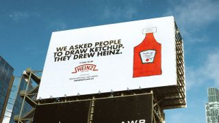 Heinz ketchup drawing campaign