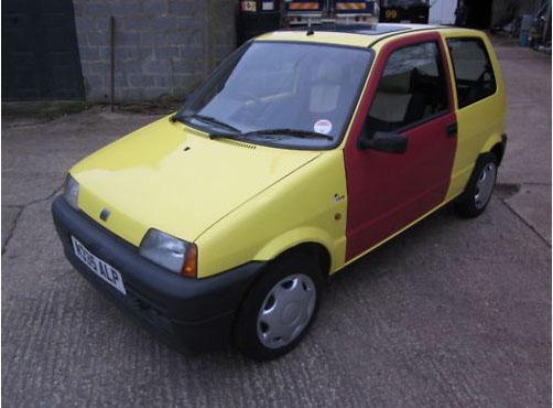 Inbetweeners car leads Comic Relief eBay auction
