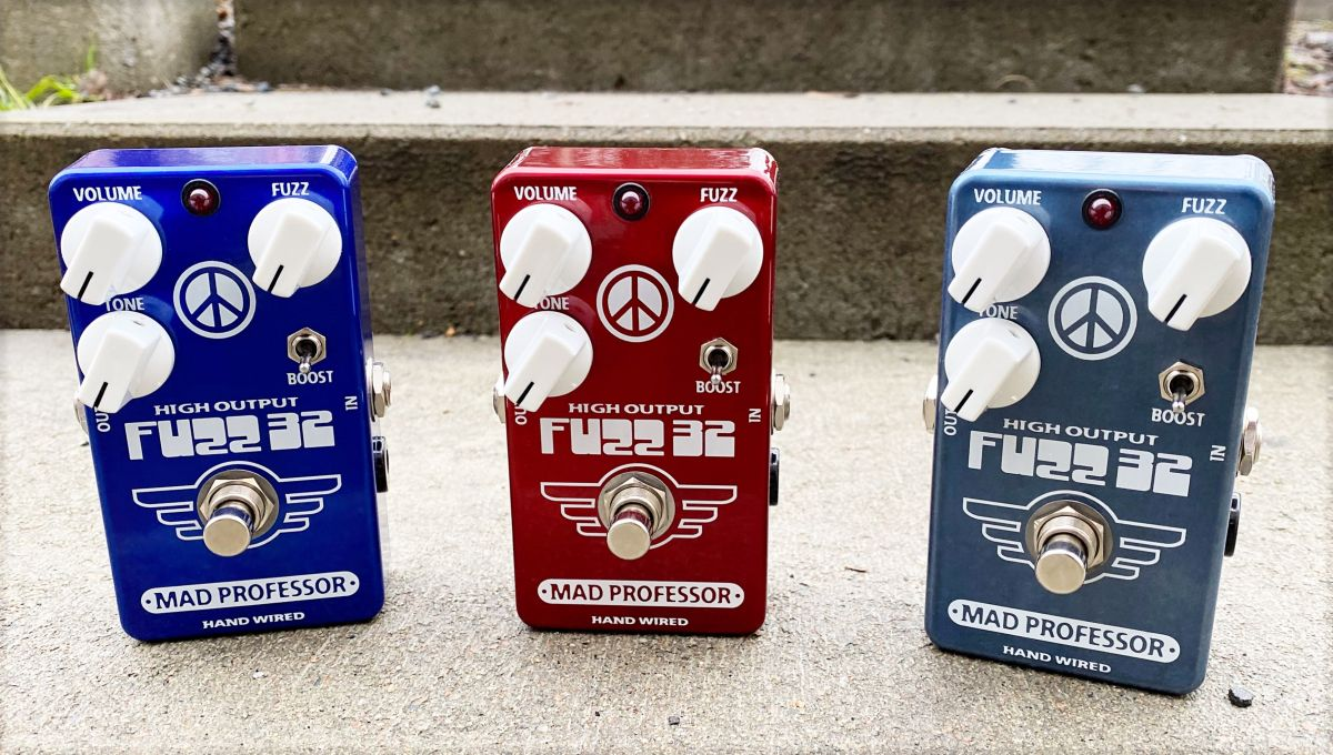 Germanium fuzz without the downsides? Mad Professor's new Fuzz 32 says yes
