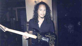 Kirk Hammett ouija board