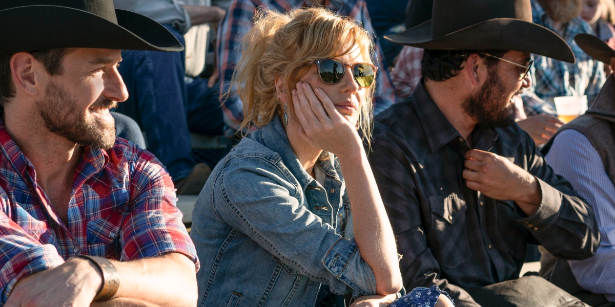 Yellowstone Ryan Ian Bohen Beth Dutton Kelly Reilly Rip Wheeler Cole Hauser Paramount Network