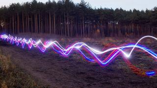 broadband, lights